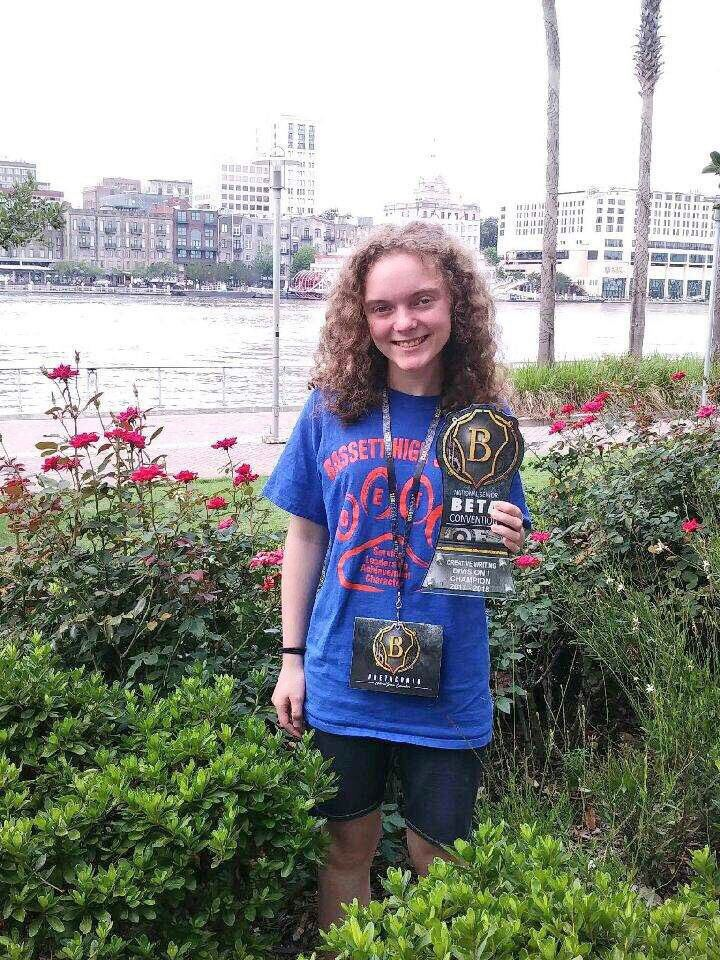 Telling Her Own Story: Bassett's Oliver wins national writing competition