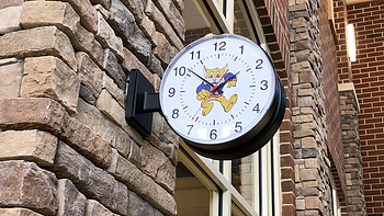 Clock from Meadow View Elementary