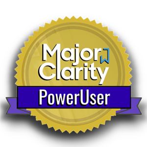 Major Clarity Power User
