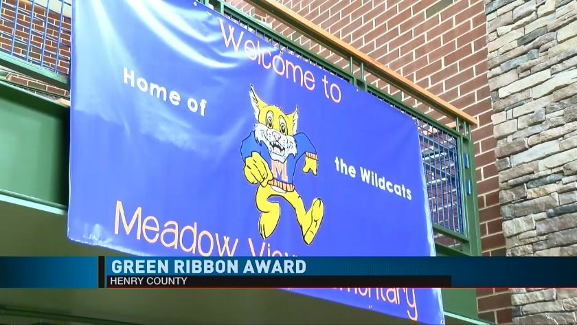 VIDEO: Henry County Public Schools receive green ribbon award