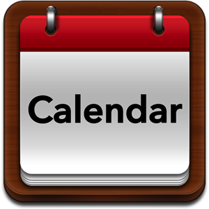 clipart of a blank calendar