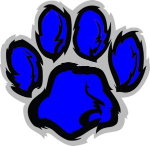 Blue Tiger paw