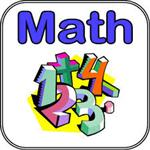 clipart of a math sign showing math symbols