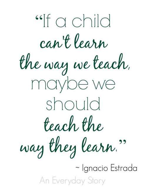 The way we teach