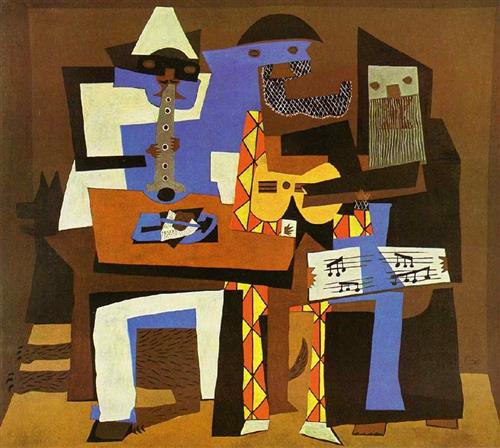 The Three Musicians by Pablo Picasso